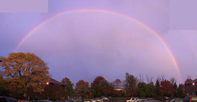 Rochester rainbow, Fall, 2001